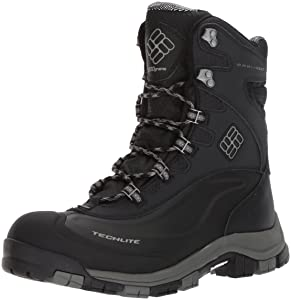 4. Columbia Men's Bugaboot Plus Omni-Heat Michelin Snow Boot