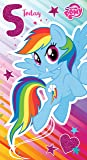 """My Little Pony MP012 """"Happy 5th Birthday. Hope Your Day Is Full Of Sparkles!"""" Greeting Card"""