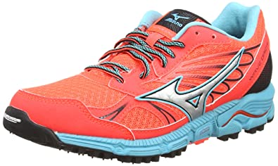 a0ae8e5c501c Mizuno Wave Daichi, Women's Trail Running Shoes, Orange (Fiery Coral/Silver/