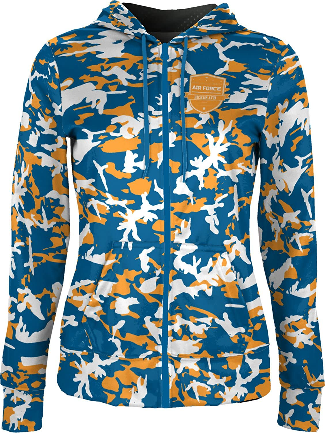 ProSphere Women's Hickam AFB Military Camo Fullzip Hoodie