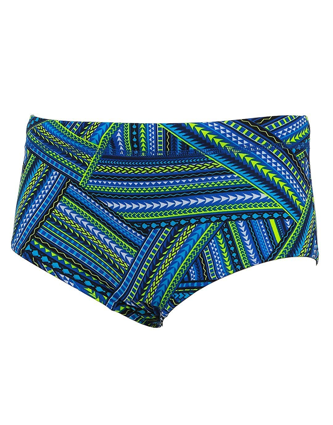 Blue Boys Water Warrior Classic Trunk Age 14