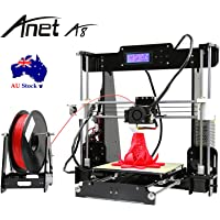 Anet A8 LED DIY 3D Printer Kit 220x220x230mm High Precision Accuracy