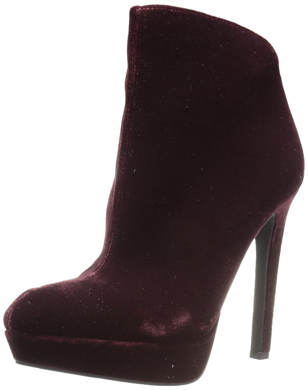 Jessica Simpson Women's Zamia Ankle Boot B075DH8WQV 8 B(M) US|Rouge Noir