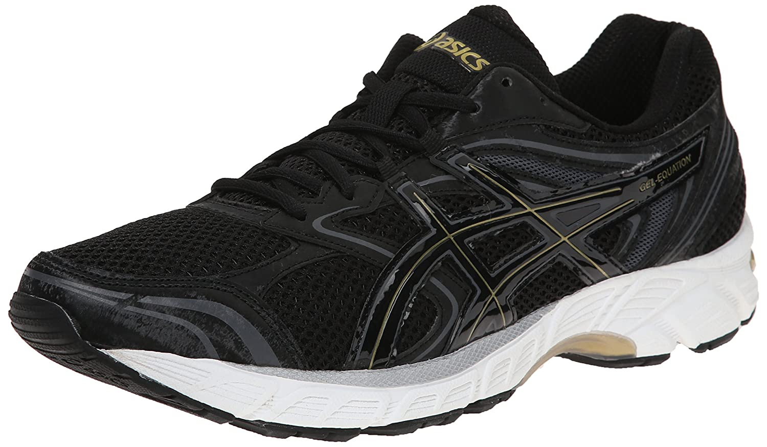 Gel Equation 8- Black running shoes
