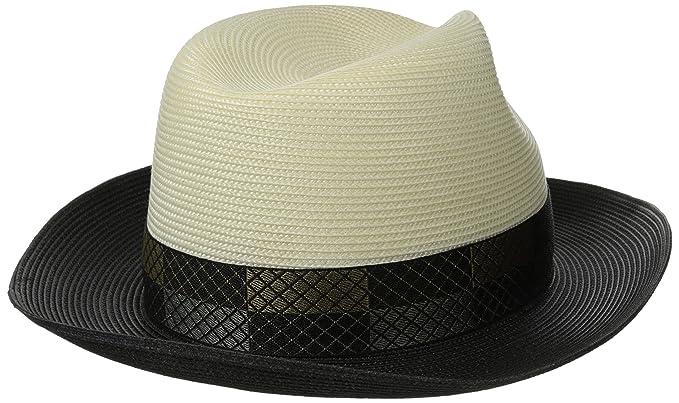 2332086235e9f Stetson Men s Andover Florenine Milan Straw Hat at Amazon Men s Clothing  store