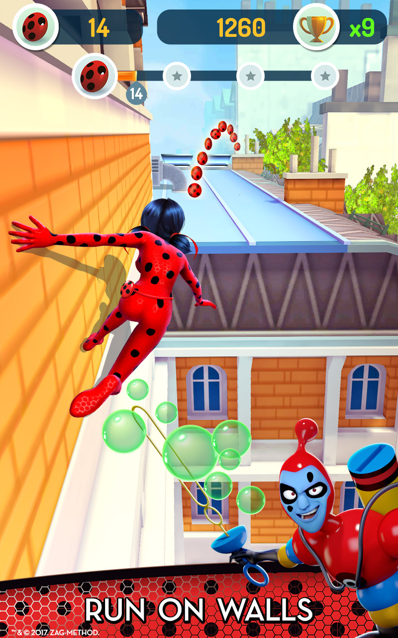 Miraculous Ladybug & Cat Noir - Run, Jump & Save Paris