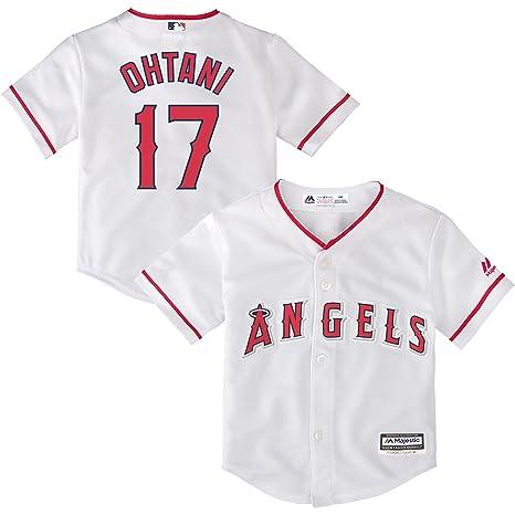 hot sale online 02fd0 cec1f Amazon.com : Outerstuff Shohei Ohtani Los Angeles Angels #17 ...