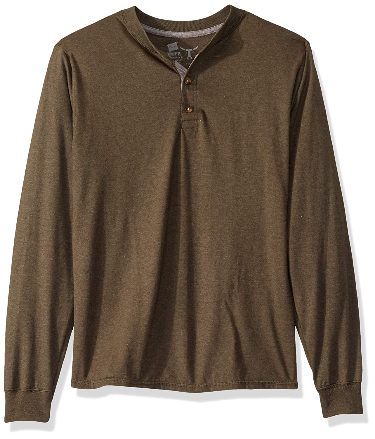 Hanes Men's Heavyweight Henley