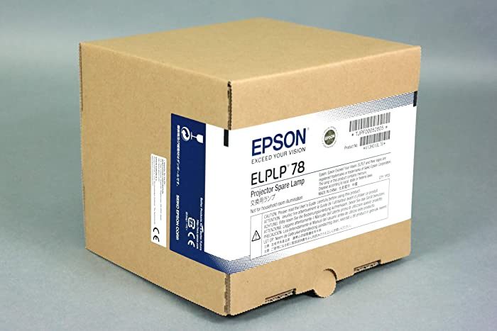 The Best Epson Powerlite Home Cinema 730Hd Replacement Bulb V13h010l78