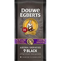 Douwe Egberts Filterkoffie Aroma Variaties Black Premium (3 Kilogram, Intensiteit 09/09, 100% Arabica Extra Dark Roast…