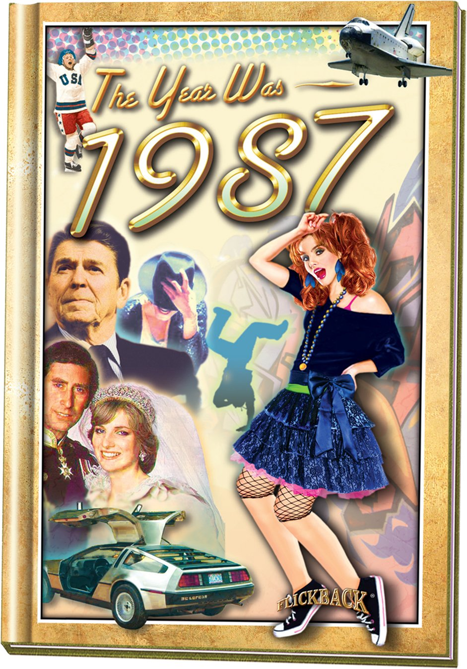 Download The Year Was 1987 Hardcover Mini Book: 31st Birthday or Anniversary Present pdf
