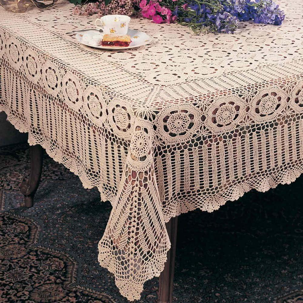 Ecru Crochet Lace Top