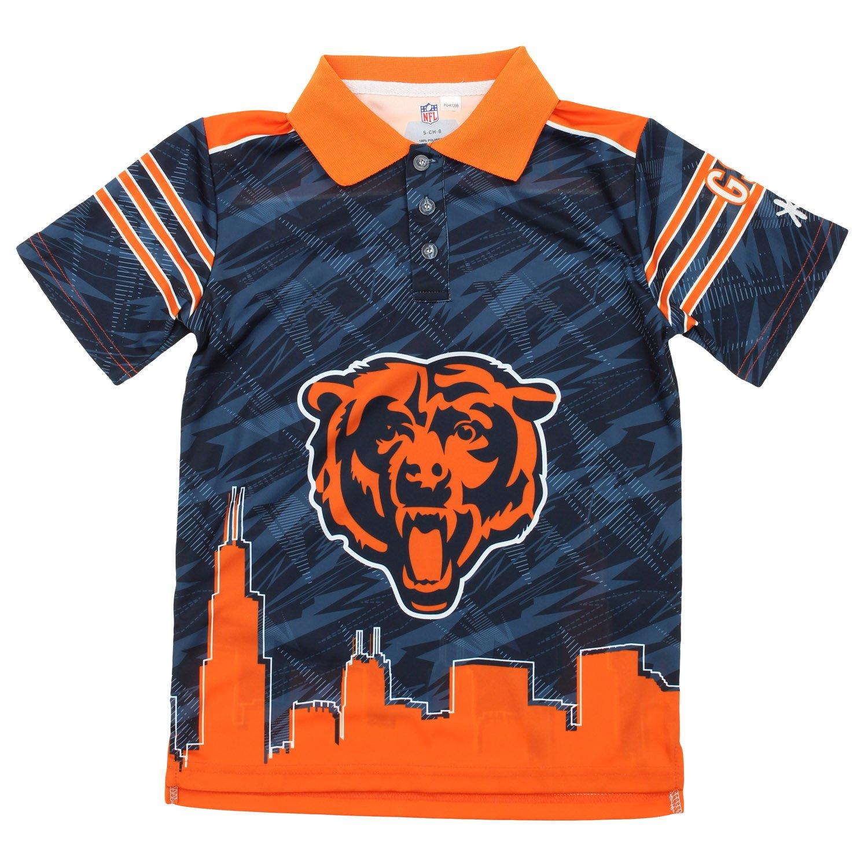 人気ブラドン NFL 18 BIG 8 BOYS YOUTH ( YOUTH 8 – 18 ) Cityポロ、チームオプション Medium (10/12) シカゴベアーズ B01N8Y81QX, カメラのミツバ:61c97e6f --- a0267596.xsph.ru