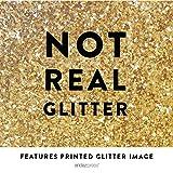 Andaz Press Blush Pink Gold Glitter Print Wedding