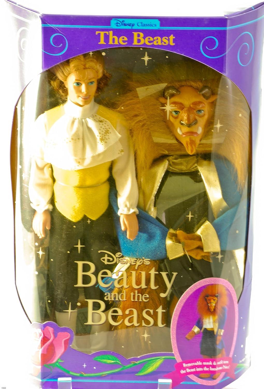Disney Classics Disney Beauty and The Beast BEAST Doll 1991 Disney// Mattel 2436