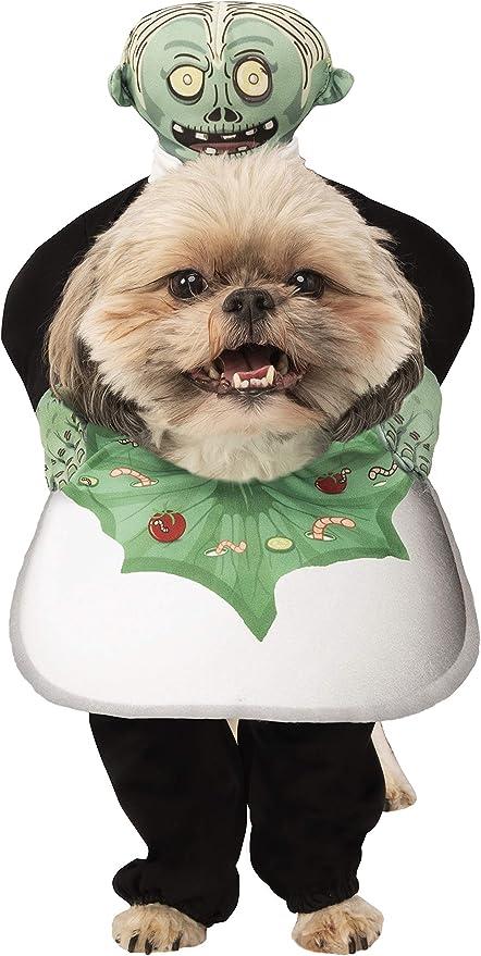 Amazon.com : Rubie's Head On A Platter Pet Costume, Medium : Pet Supplies
