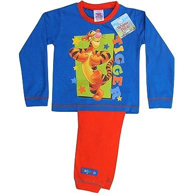 ee448e349b37b Disney Toddler's & Boy's Tigger Soft Cotton Pyjamas Set (12-18 ...