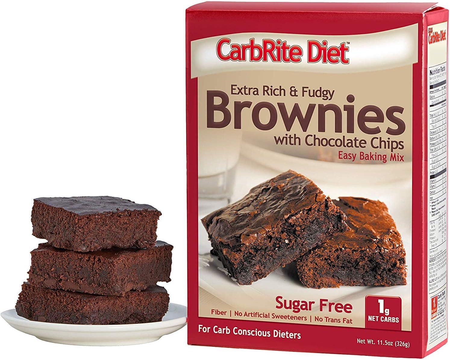 doctors sugar free carbrite diet brownie bar upc