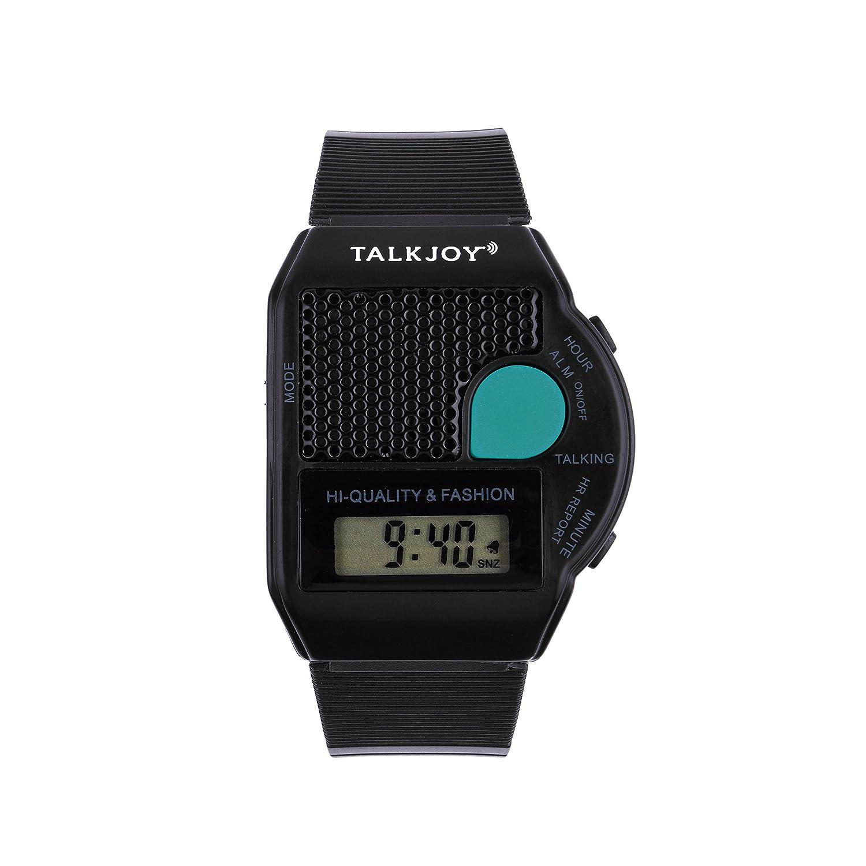 Reloj de pulsera con función de voz PROFI que anuncia la hora: Amazon.es: Relojes