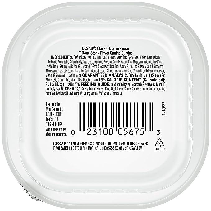 Amazon.com: Bandejas de comida para perro de carne hú ...
