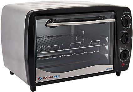 (Certified REFURBISHED) Bajaj Majesty 1603 TSS Oven Toaster Grill, Silver