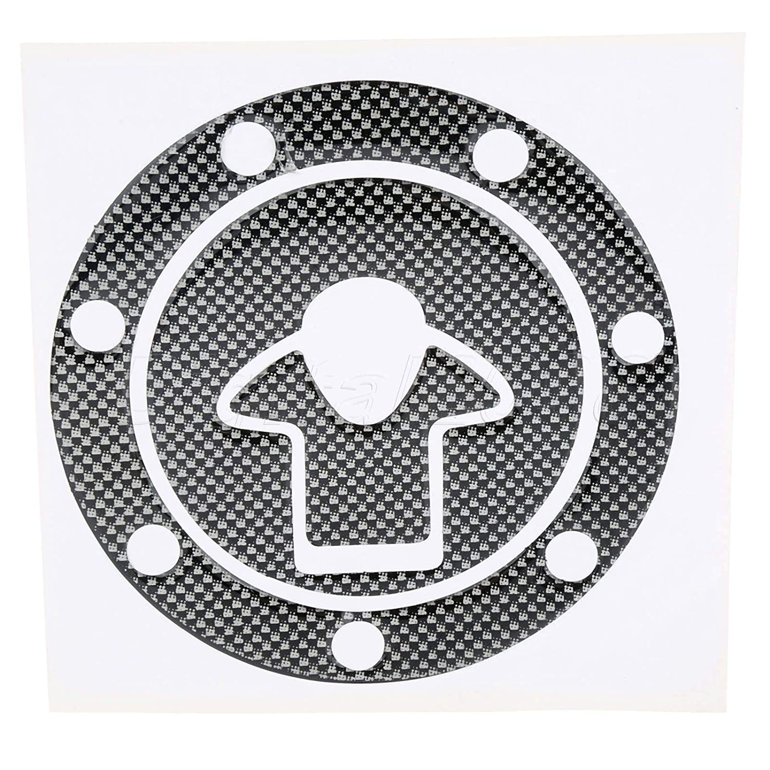 AjaxStore - New Motorcycle Gas Oil Fuel Tank Cap Cover Pad ...