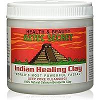 Aztec Secret - Indian Healing Clay - Deep Pore Cleansing Facial & Healing Body Mask - The Original 100% Natural Calcium Bentonite Clay - 454g