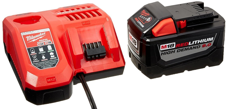 MILWAUKEE ELEC Tool 48-59-1890 M18 9.0Ah Starter Kit