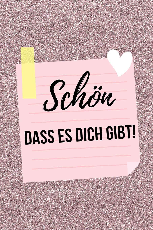 Schon Dass Es Dich Gibt A5 Tagebuch Als Geschenkidee Danke