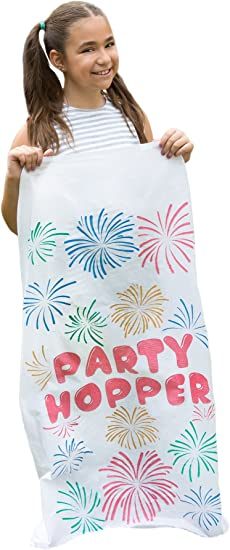 Birthday Party No Weird Burlap Odors Durable Potato Sack Race Bags 8 PACK