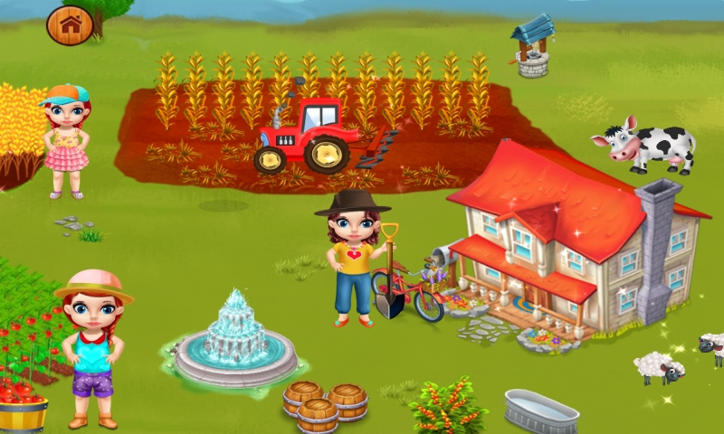 La Granja de animales Juegos para niños : los animales y las actividades agrícolas en este juego para niños y niñas - gratis: Amazon.es: Appstore para Android