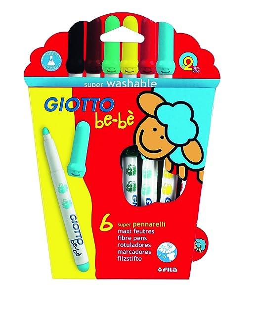 104 opinioni per Giotto Bebè 466600- Superpennarelli Astuccio 6 Colori