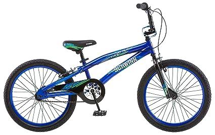 Amazon com : Schwinn Boy's Throttle Bicycle, 20-Inch, Blue