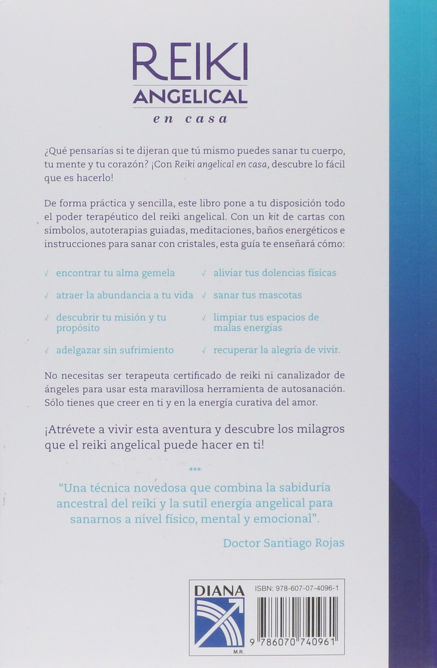 Reiki angelical en casa (Spanish Edition): Salazar ...