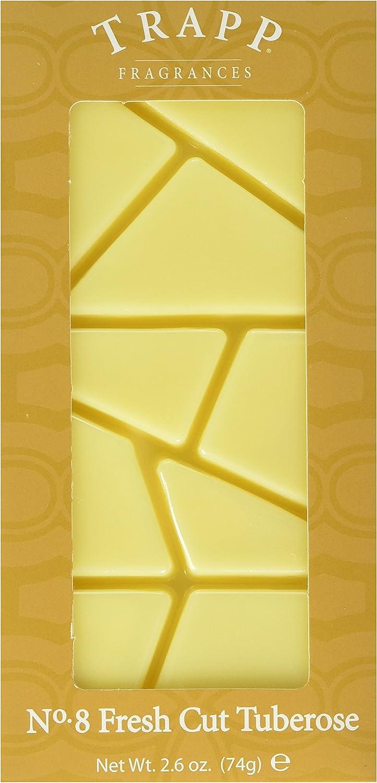 Trapp Candles Home Fragrance Melt, No. 8 Fresh Cut Tuberose, 2.6-Ounce