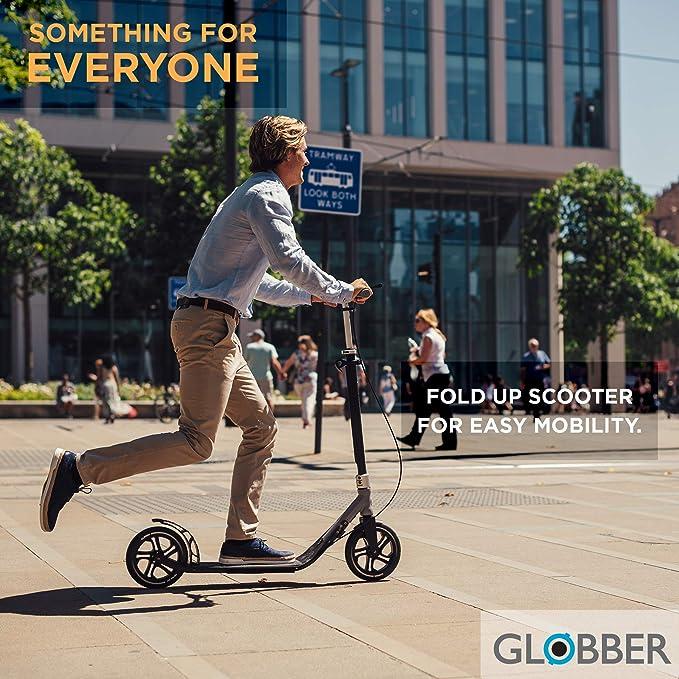 Amazon.com: Globber adulto un segundo patinete plegable de ...