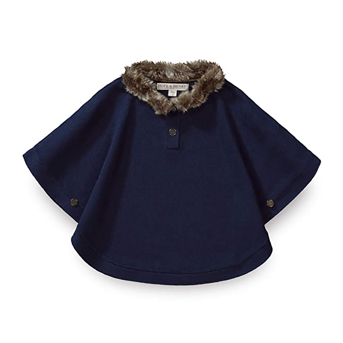 Victorian Kids Costumes & Shoes- Girls, Boys, Baby, Toddler Hope & Henry Girls Sweater Cape $39.95 AT vintagedancer.com