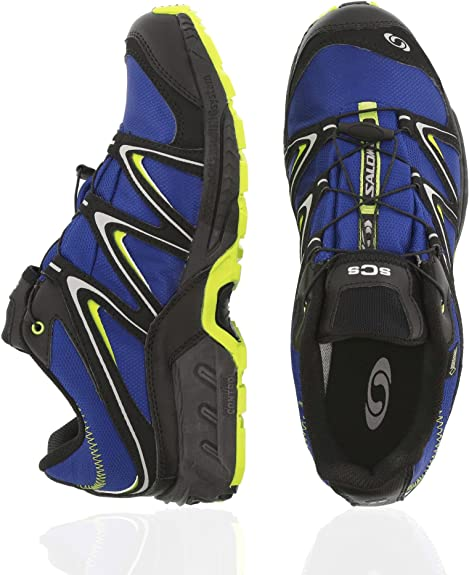 Salomon Volcano GTX Schuhe Trekking Outdoor Laufschuhe blau