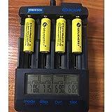 GEILIENERGY Solar Light AA Ni-CD 600mAh Rechargable Batteries,AA Rechargeable Batteries for Solar Lights Solar Lamp