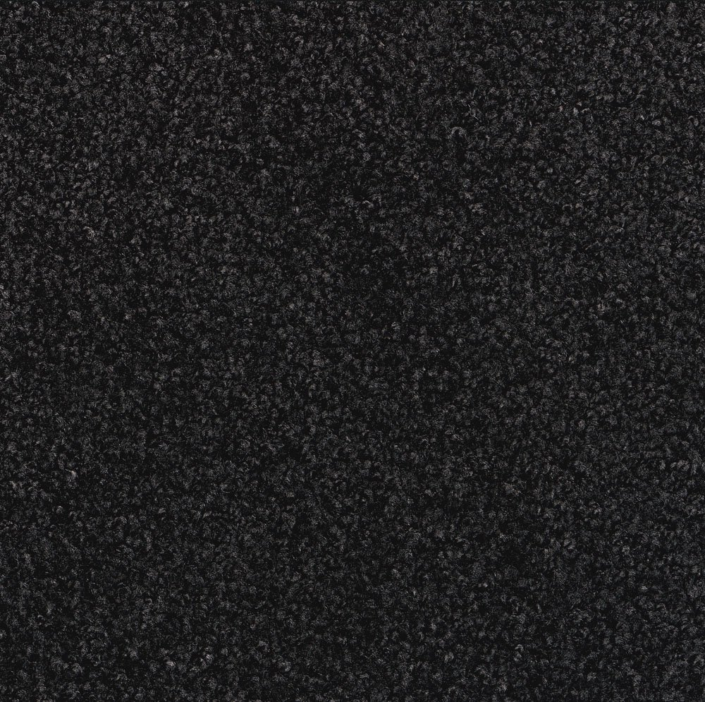 Tri-Grip Durable Rubber-Backed Nylon Carpeted Entry/Interior Mat 6' Length x 4' Width, Charcoal by M+A Matting