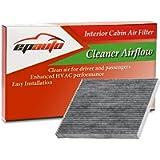 EPAuto CP819 (CF11819) Replacement for Hyundai/Chevrolet/GMC/KIA/Saturn Premium Cabin Air Filter includes Activated…