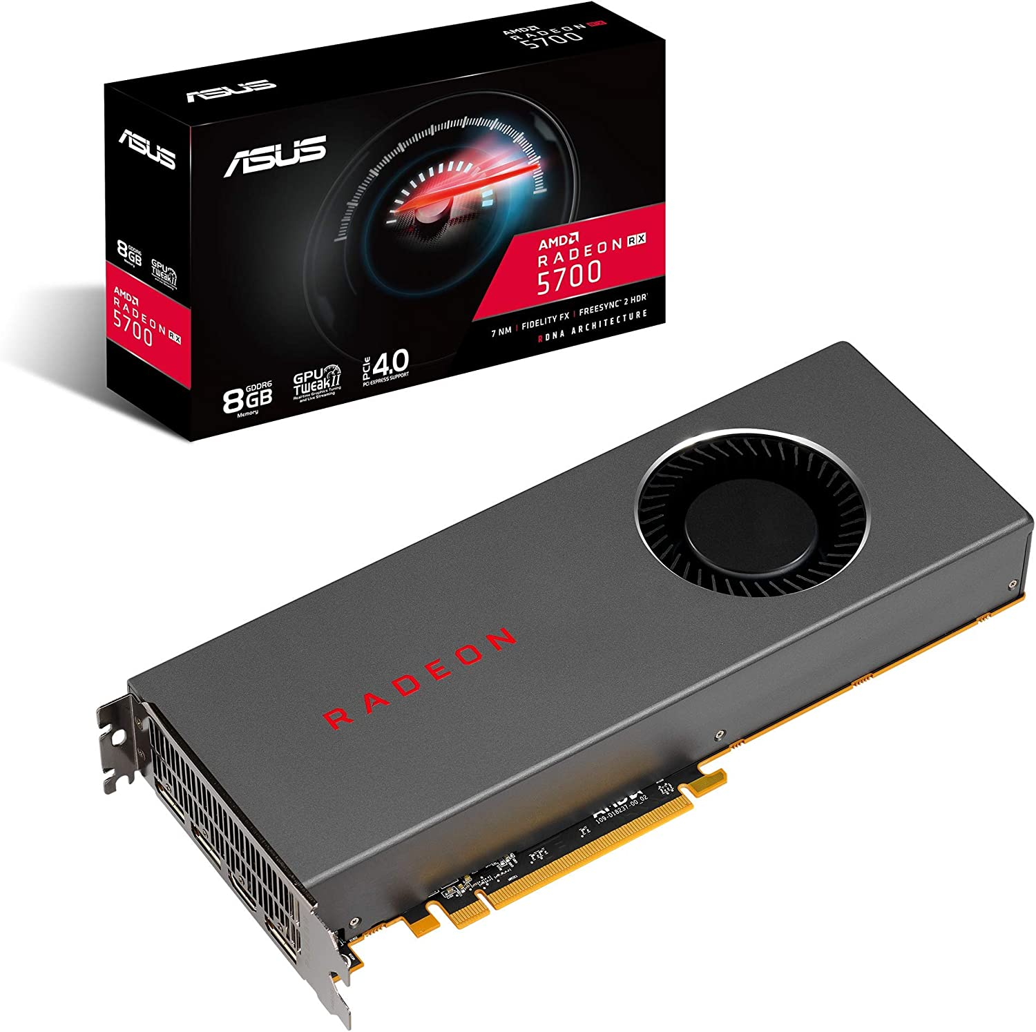 Amazon.com: Asus AMD Radeon Rx 5700 PCIe 4.0 VR Ready ...