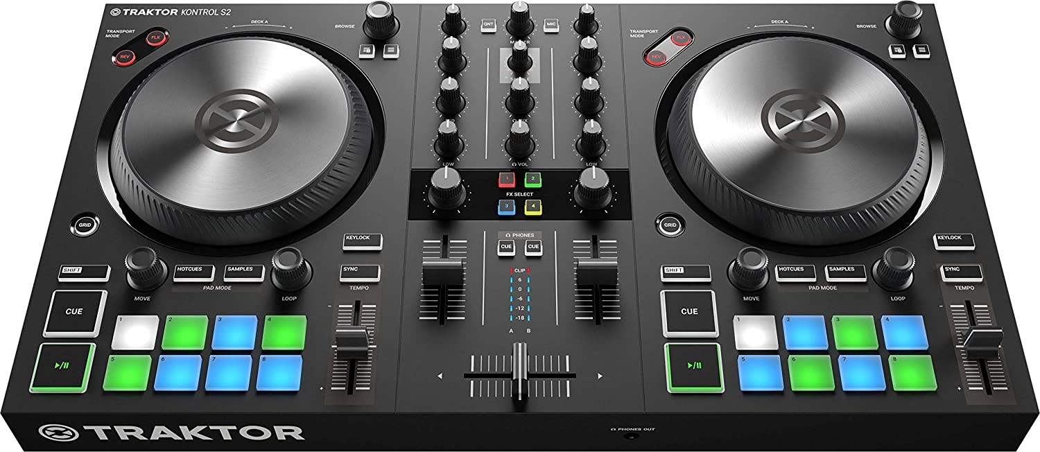 front facing Native Instruments Traktor Kontrol S2 Mk3