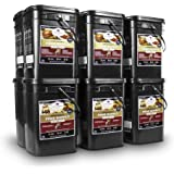 Wise Company Long Term Emergency Food Supply, Breakfast and Entree Variety, Twelve-120 Serving Buckets (1440 Total Servings)