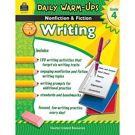 Daily Warm-Ups: Nonfiction & Fiction Writing Grd 4