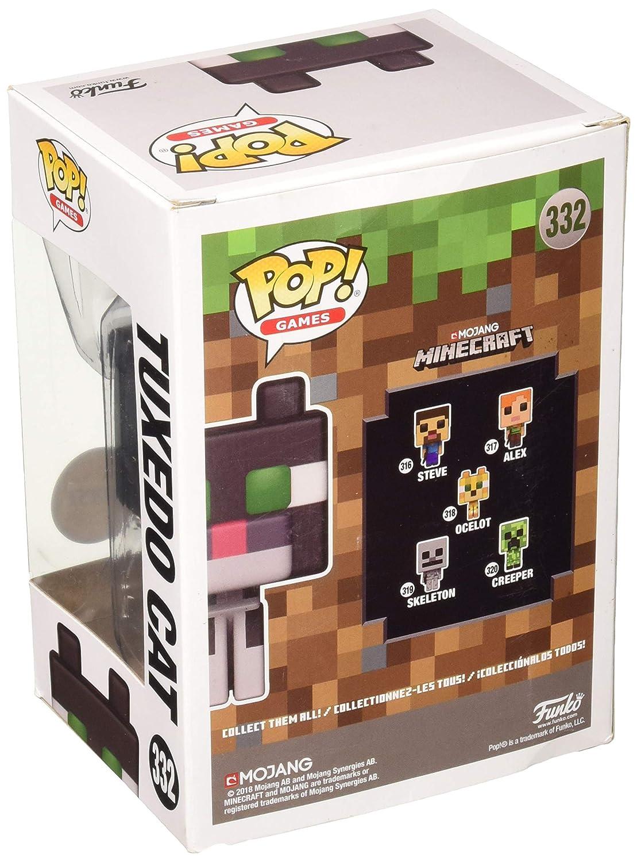 Funko ¡Popular! Juegos Minecraft Gato del Smoking 3,75