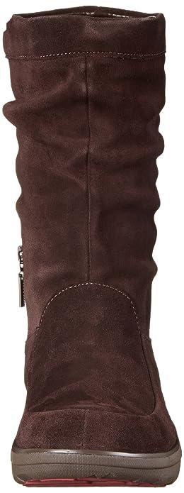 FitflopLoaff Slouchy Knee - Botas de Invierno Forradas de Media Caña para Mujer, Color Marrón - Marrón Oscuro, Talla 41 EU (7 UK)