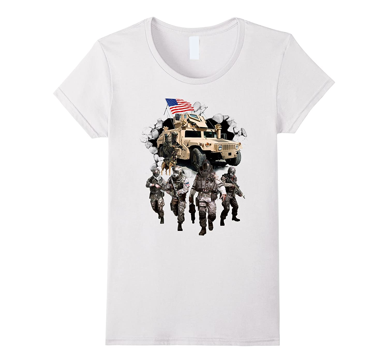 USA Veteran Army T-Shirt