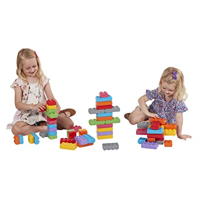 Marioinex 901724 Building Blocks Junior Bricks, 110 Pieces, Multi-Colour: Toys & Games