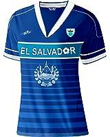 abcde1045 ... El Salvador Slim Women Soccer Jersey Exclusive Design El Salvador 2017  2018 ...
